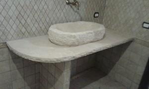 top bagno e vaschetta