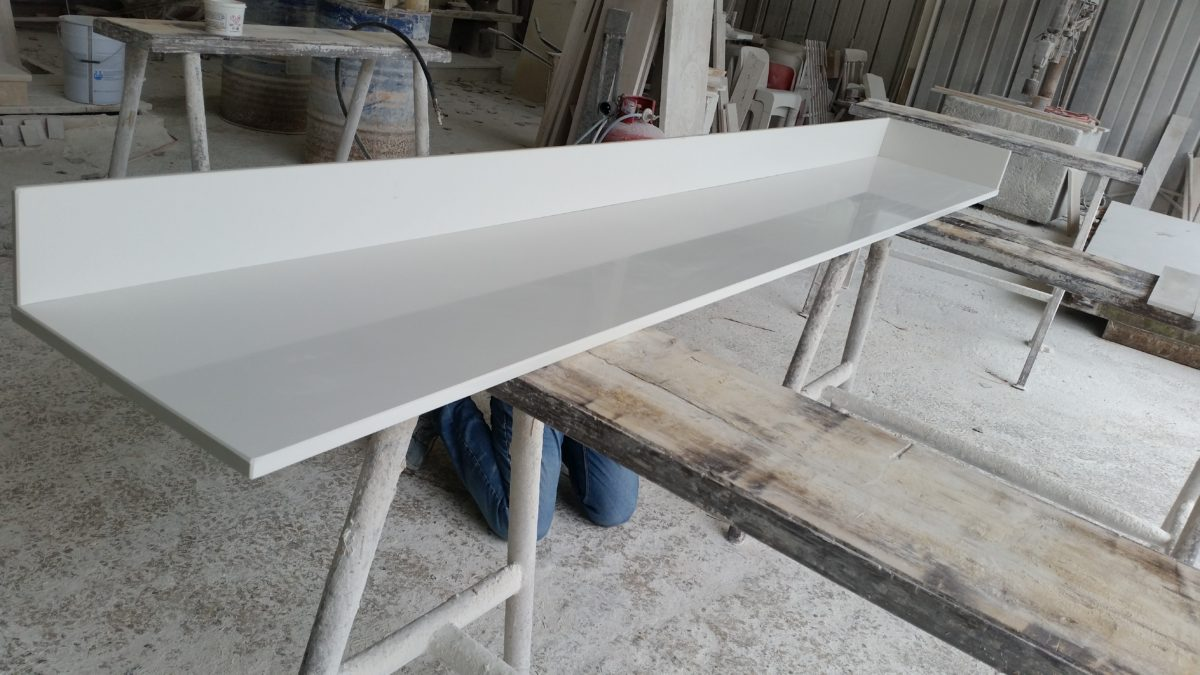 Top OKITE Bianco Classico lucido