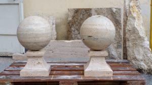 sfere in marmo